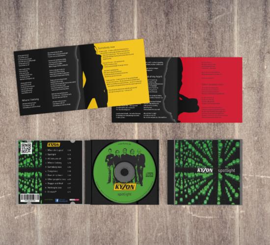 CD + Booklet Kyzon