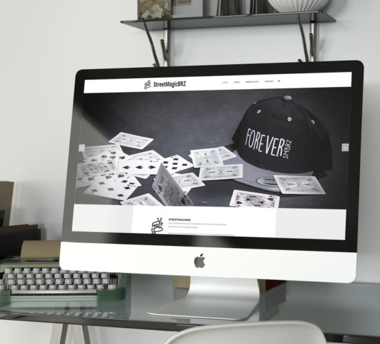 Strretmagicbrz - Website