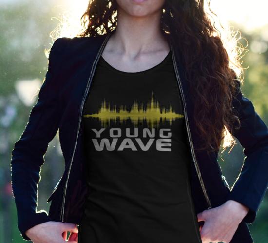 Young Wave – Logo für Band-Shirts